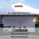 Testimoni Pembuatan Tenda Murah Untuk Karang Taruna Prana Jaya