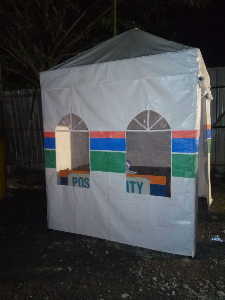 Jasa Pembuatan Tenda Murah untuk Pos Security