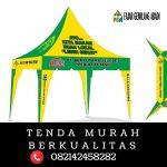 Tenda Kerucut Sablon Murah Surabaya